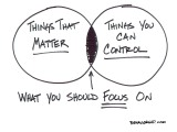 TAKE ACTION ON WHAT YOU CAN CONTROL